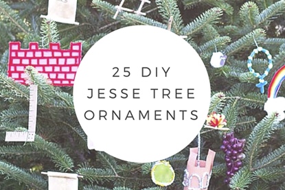 25 DIY Jesse Tree Ornaments