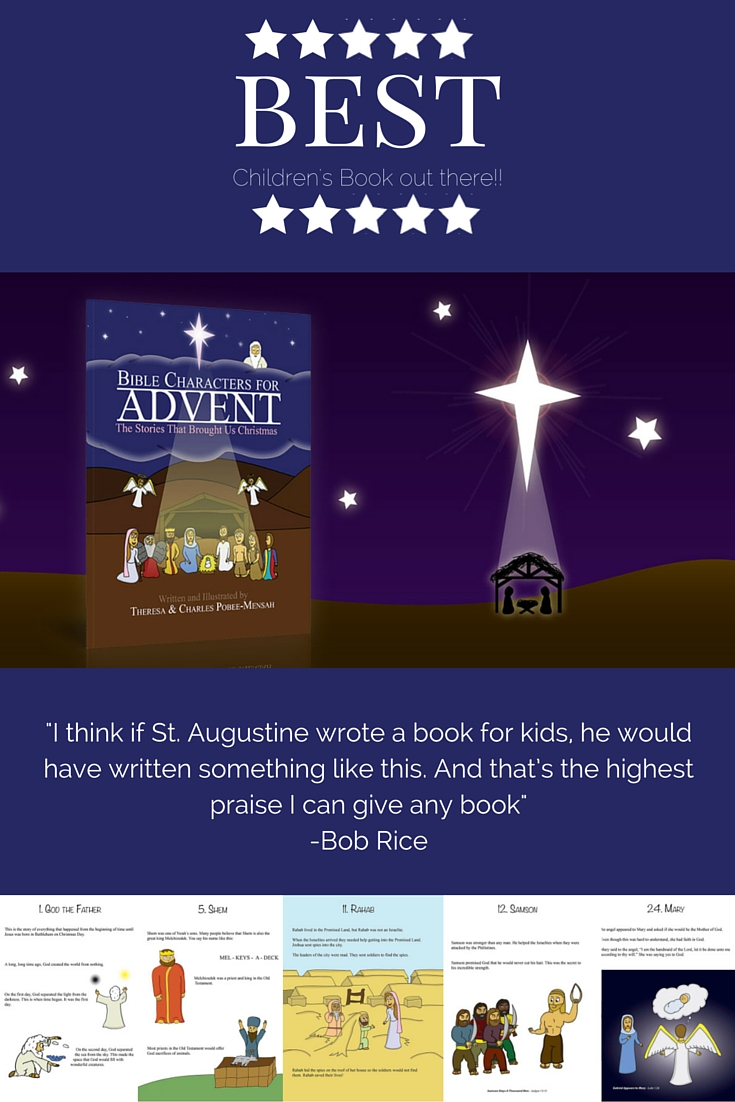 the book - bible characters for advent
