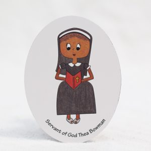 "Servant of God Thea Bowman - 3""x4"" magnet"