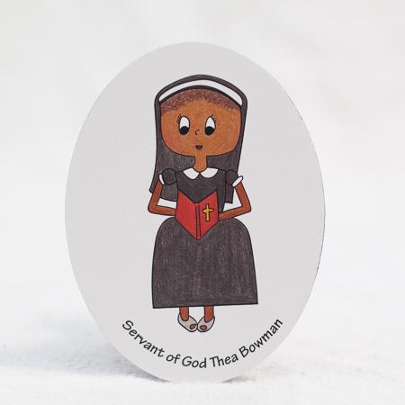 "Servant of God Thea Bowman - 3""x4"" magnet"