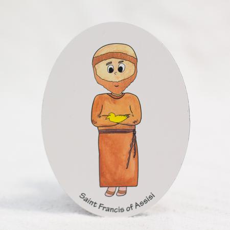 Saint Francis magnet