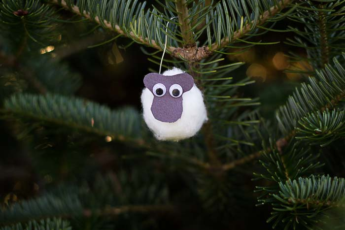 Jesse Tree Ornament of sheep
