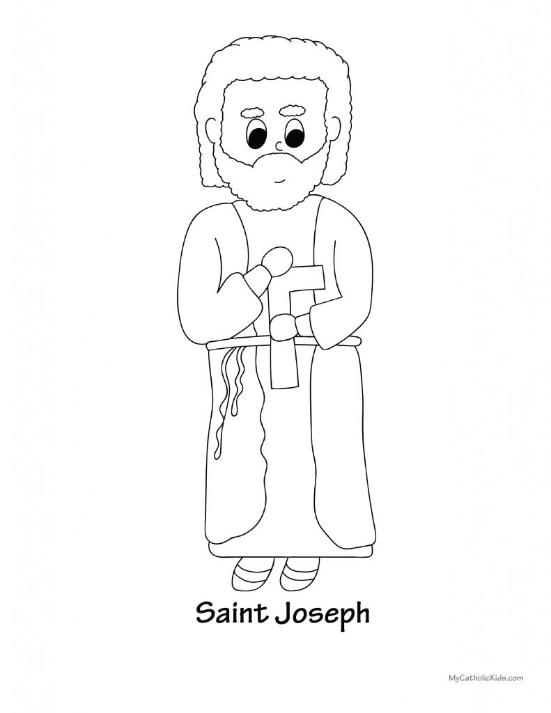 Joseph Coloring Sheet