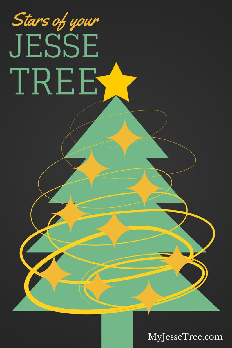 Jesse tree with stars