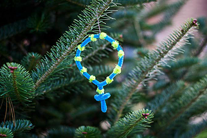 Rosary Jesse Tree Ornament